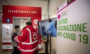 Covid-19: Itália com mais de 21 mil novos casos e 264 mortes na véspera de novo confinamento