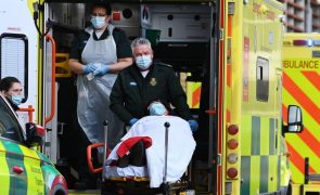 Covid-19: Reino Unido regista 52 mortos, mínimo desde outubro