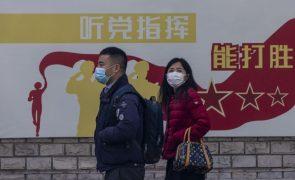 Covid-19: China soma cinco casos nas últimas 24 horas, todos oriundos do exterior