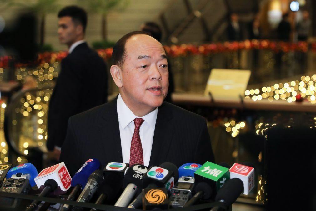Executivo promete esforços para garantir que Macau é