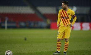 Messi iguala marca de Xavi com 767 partidas pelo FC Barcelona