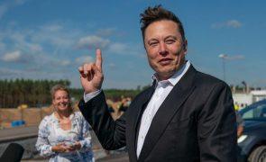 Elon Musk passa de CEO a