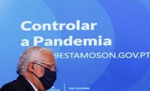 UE/Presidência: Costa e Modi preparam cimeira do Porto e cooperação na vacinação contra a covid-19