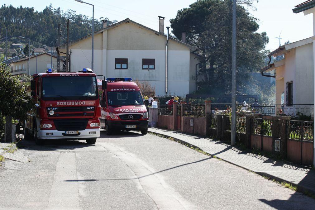 Filho de vítima mortal em incêndio numa casa em Penacova entrega-se à GNR