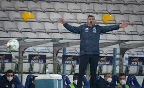 Sérgio Conceição multado em 2550 euros, João Pereira suspenso um jogo
