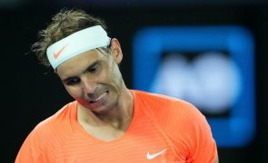 Rafael Nadal falha Masters 1.000 de Miami