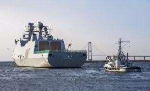 Dinamarca envia fragata e 175 marinheiros para combater pirataria no Golfo da Guiné