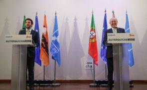 Autárquicas: Líderes do PSD e CDS-PP confiam que podem