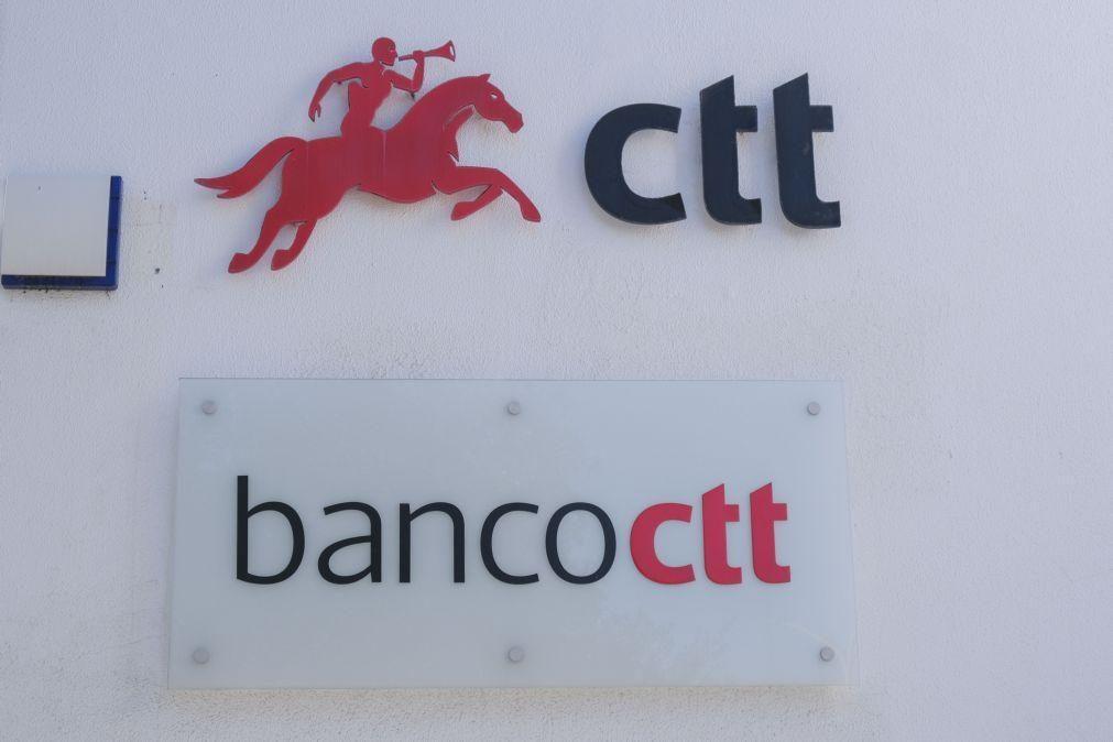 Banco CTT regista em 2020 o primeiro lucro da sua história