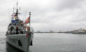 Marinha e Força Aérea participam em exercício militar internacional no Golfo da Guiné