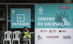 Covid-19: Mais de 340 mil pessoas com vacinação completa, 46 mil na última semana