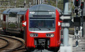 Covid-19: Comboio de dois pisos regressa à linha de Sintra/Azambuja depois de sete anos parado