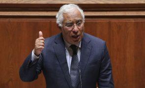 Costa hoje no parlamento com desconfinamento, vacinação e resposta à crise na agenda