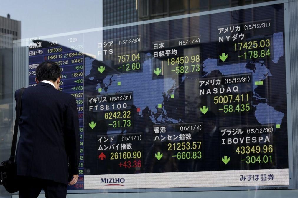 Bolsa de Tóquio fecha sem oscilações