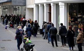 Covid-19: Incidência acumulada na Alemanha aumentou para 86,2 por 100 mil pessoas