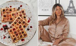 Vanessa Alfaro Ensina a fazer Waffles fofos e simples - adicione o que quiser!