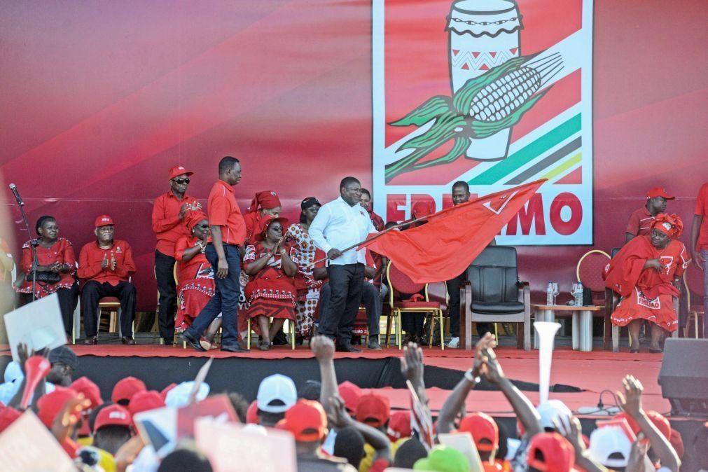 Covid-19: Partido no poder em Moçambique adia reunião do comité central