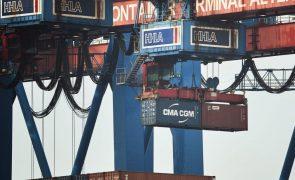 Zona euro fecha 2020 com excedente de 234 mil ME no comércio externo de bens - Eurostat