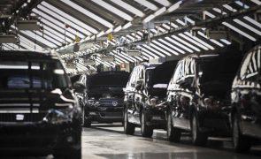Produção automóvel cai 9,1% até fevereiro para 54.664 veículos