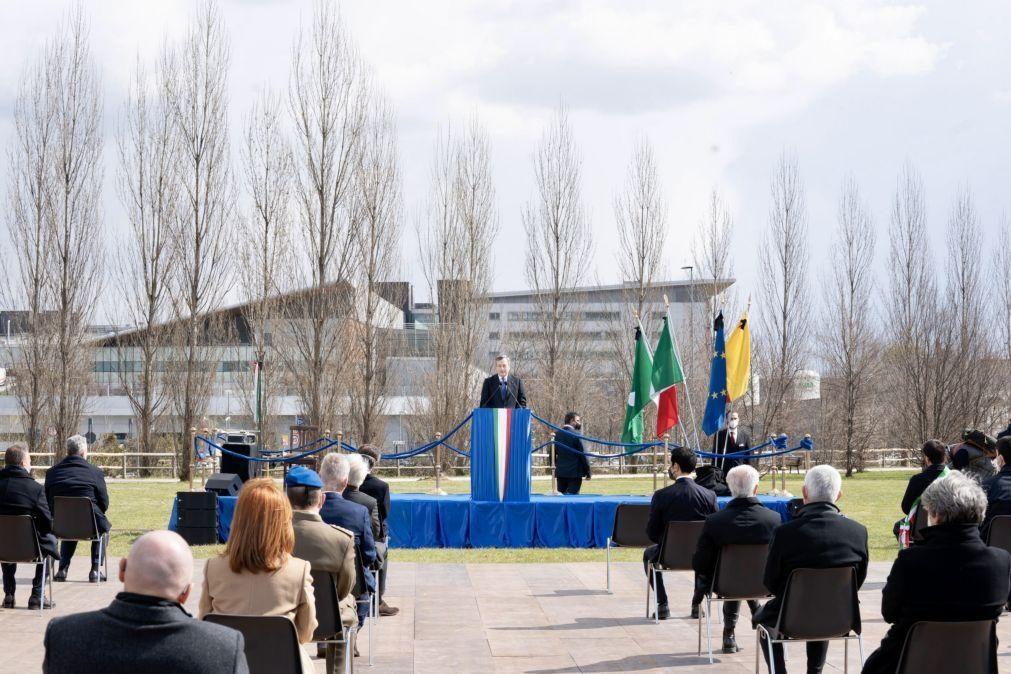 Covid-19: Itália homenageia as vítimas mortais da pandemia