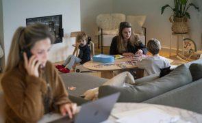 BE quer que pais de crianças até 12 anos possam optar pelo teletrabalho