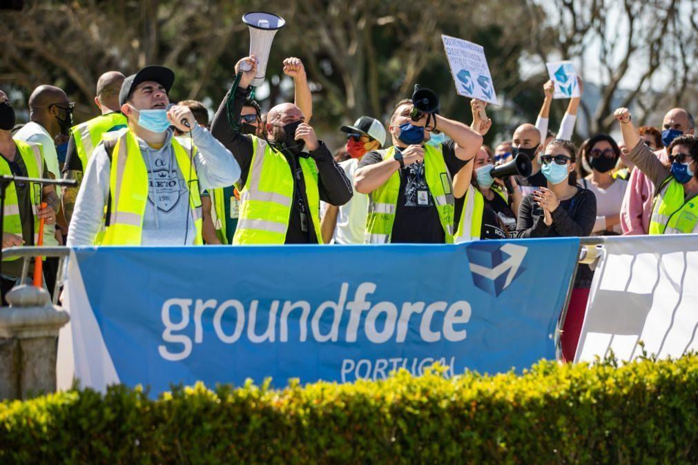 Groundforce dá 'luz verde' a acordo com TAP para desbloquear salários