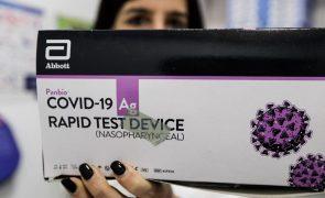 Covid-19: Resultados dos testes rápidos têm de ser comunicados às autoridades de saúde