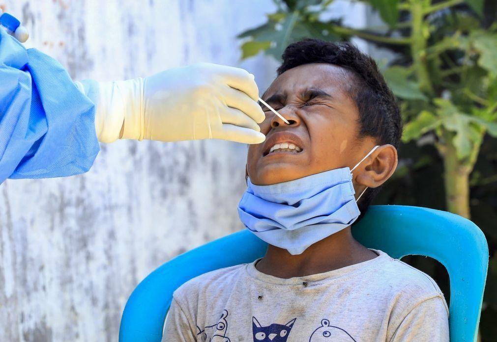 Covid-19: Casos ativos em Timor-Leste aumentam para 154 com 19 novas infeções