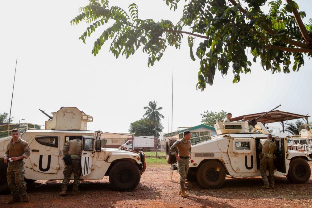 RCA: Militares portugueses ajudaram na segurança das eleições