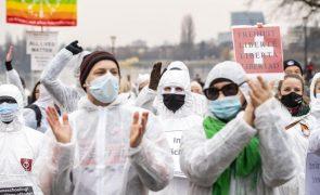 Covid-19: Milhares de manifestantes na Suíça contra restrições