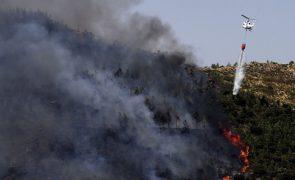 Incêndio no Peso da Régua mobiliza 94 operacionais e dois meios aéreos