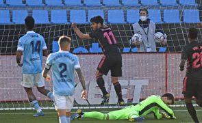 Real Madrid vence em Vigo e sobe provisoriamente ao segundo lugar da liga