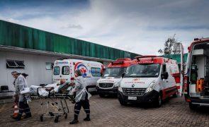 Covid-19: Brasil adota medidas de urgência para evitar falta de oxigénio