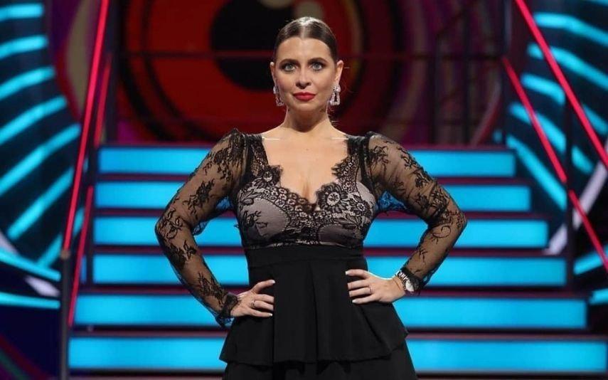 Andreia Filipe revela em direto que está grávida