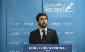 Autárquicas: Conselho Nacional do CDS-PP aprova regulamento com 96% dos votos