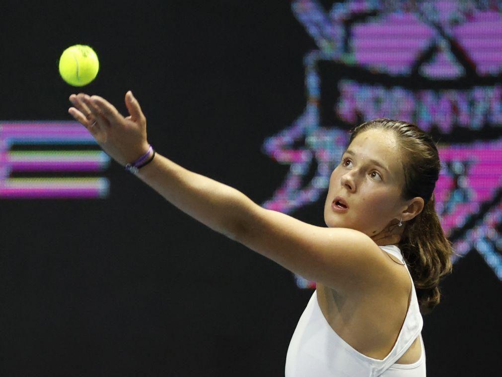 Russa Daria Kasatkina vence torneio de ténis de São Petersburgo