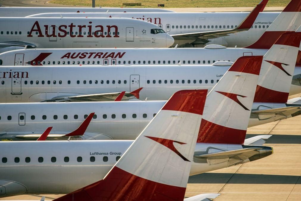 Covid-19: China suspende voos da Austrian Airlines após detetar cinco casos positivos