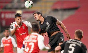 Benfica vence em Braga e sobe ao terceiro lugar [vídeo]