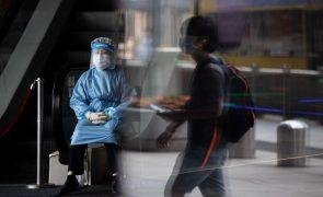 Covid-19: China soma sete casos nas últimas 24 horas, todos oriundos do exterior