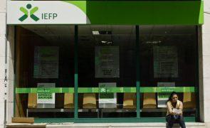 Número de desempregados inscritos nos centros de emprego sobe 36,8%