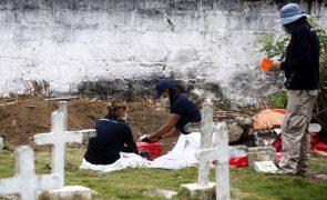 Covid-19: Balanço da AFP indica 2,71 milhões de mortes desde o início da crise
