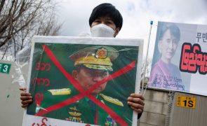 UE sanciona chefe da junta militar de Myanmar e dez outros altos responsáveis