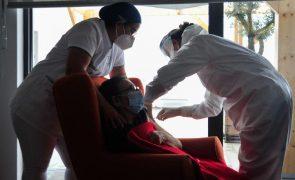 Covid-19: Totalidade dos utentes dos lares já recebeu 1ª dose da vacina