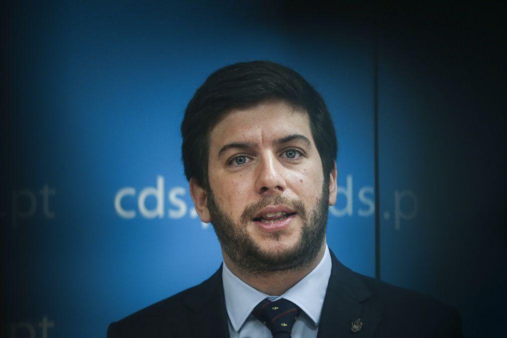 Covid-19: CDS-PP apoiará estado de emergência enquanto for