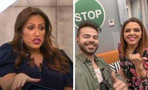 Big Brother Comentadora arrasa ida de Tatiana e Ruben Boa Nova ao reality show