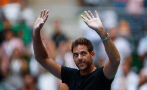 Tenista Juan Martín Del Potro será operado ao joelho direito pela quarta vez