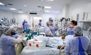 Covid-19: Brasil totaliza12 milhões de infeções ao somar 49.293 casos em 24 horas