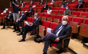 Marcelo, Costa e Ferro em nova reunião com peritos com o país em desconfinamento