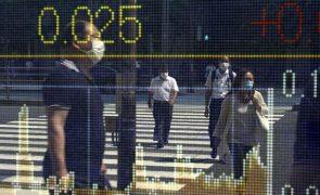 Bolsa de Tóquio fecha a perder 0,61%