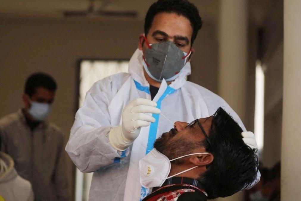 Covid-19: Índia com 199 mortes e mais de 40 mil casos nas últimas 24 horas